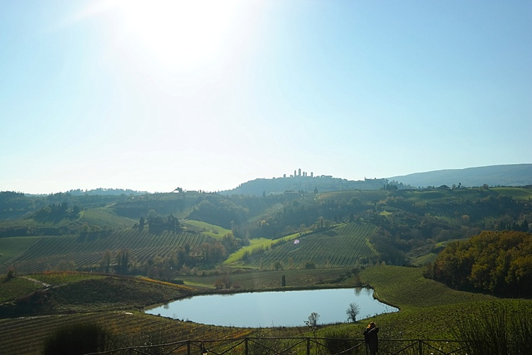 view of Tuscany, Italy