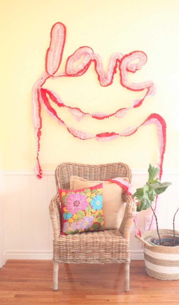 What-a-cool-way-to-use-crepe-paper-to-decorate-for-Valentines-Day-Totally-doing-this-they-are-like-1-each-Love-3-of-4