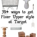Over 30 ways to get Fixer Upper style from Target! Who knew their stuff was so cute? Totally going to get some of these.