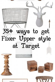30+ Ways to Get Fixer Upper Style at Target