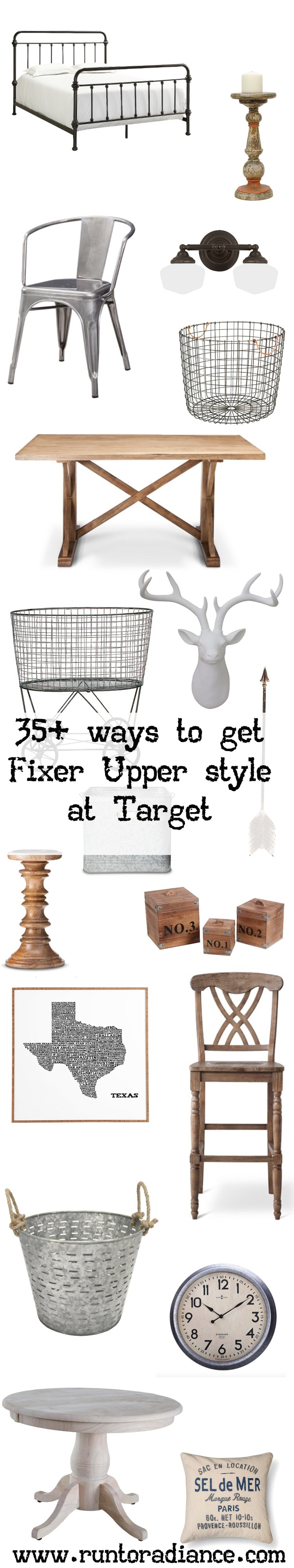 Fixer upper style 35 target items that will get you the for Do people on fixer upper get to keep the furniture