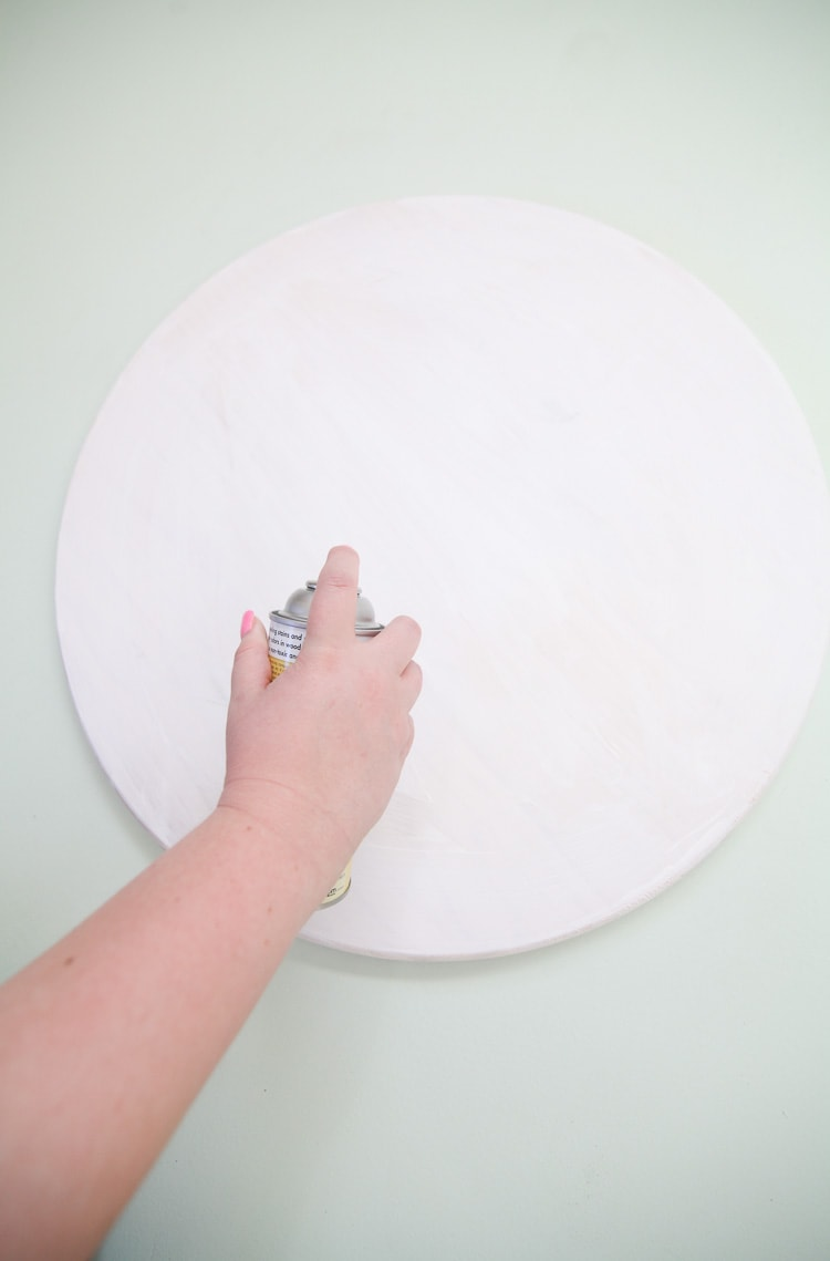Easy large diy tray! Less than an hour and less than $20 for a massive tray. Love!