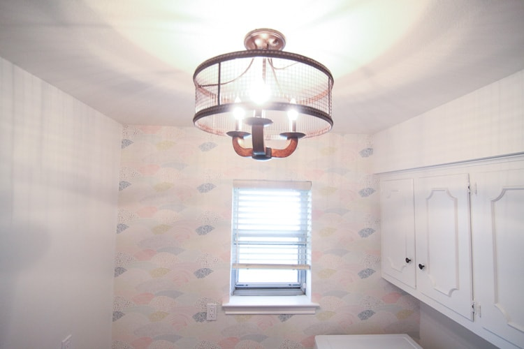 laundry room lighting. This Lamps Plus Light Fixture Is The Perfect Blend Of Modern And Rustic\u2014love How Laundry Room Lighting