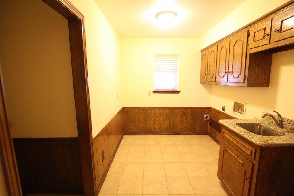 One Room Challenge - Laundry room before photos