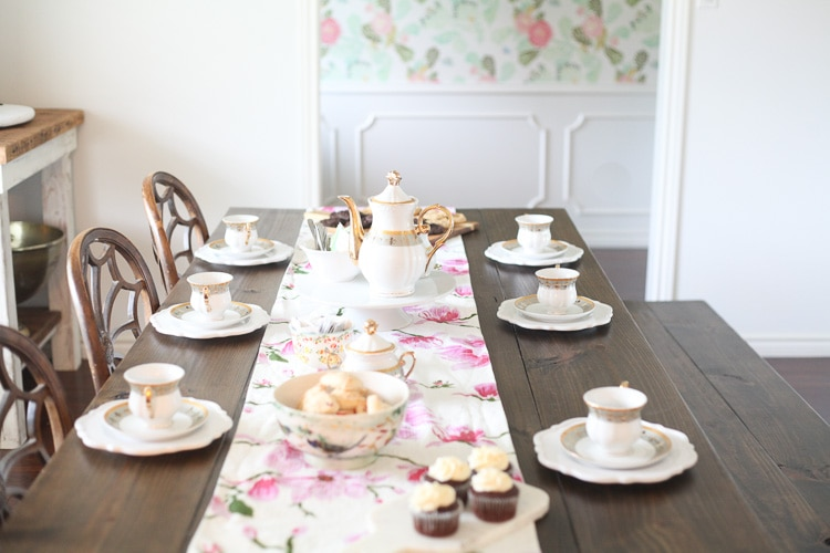 Treat mom to a mother's day tea or mother's day brunch that she'll love!