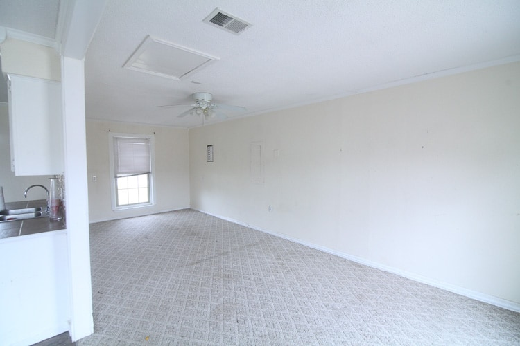 Before pictures of our newest flip house! www.runtoradiance.com