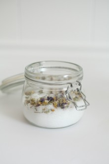 60 second project: Lavender Bath Salts