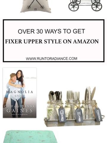 Woohoo! Over 30 ways to get the Fixer Upper look on Amazon.com!
