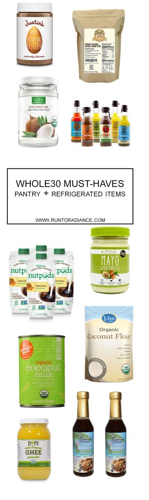 This blog post shows you exactly what you need for Whole30! I'm starting on January 1st!!