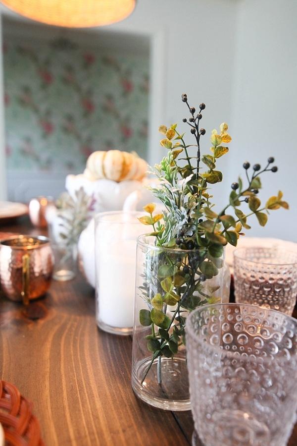 flowers in various jars and vases