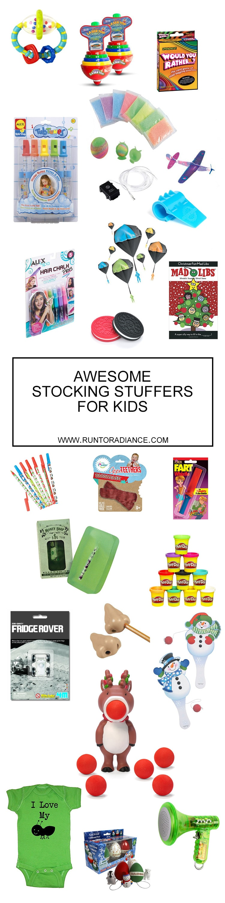 these stocking stuffer ideas for kids are so cute i love that all these stocking