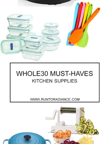 I want try a Whole30 on January 1st — this post is awesome! It shows you exactly what you need to stock up on to have a successful Whole30. Whole30 must-haves, woo hoo.