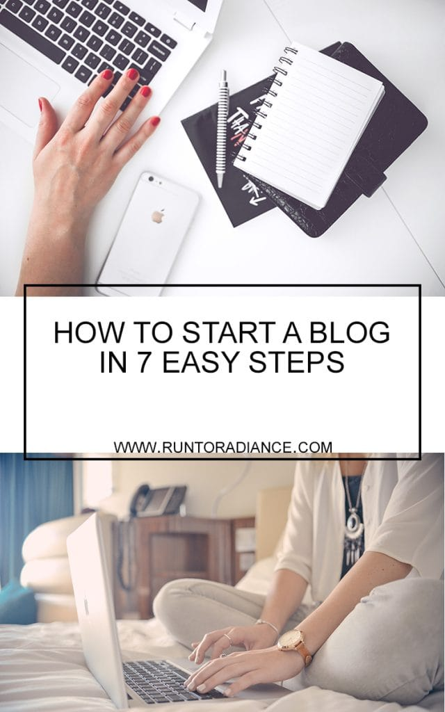 Here's how to start a blog in 7 easy steps!