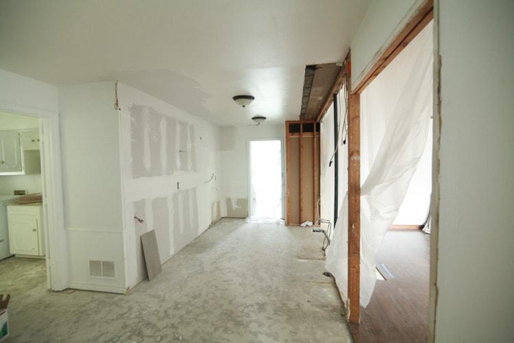 Kitchen Remodel: Demoing The Kitchen - Run To Radiance