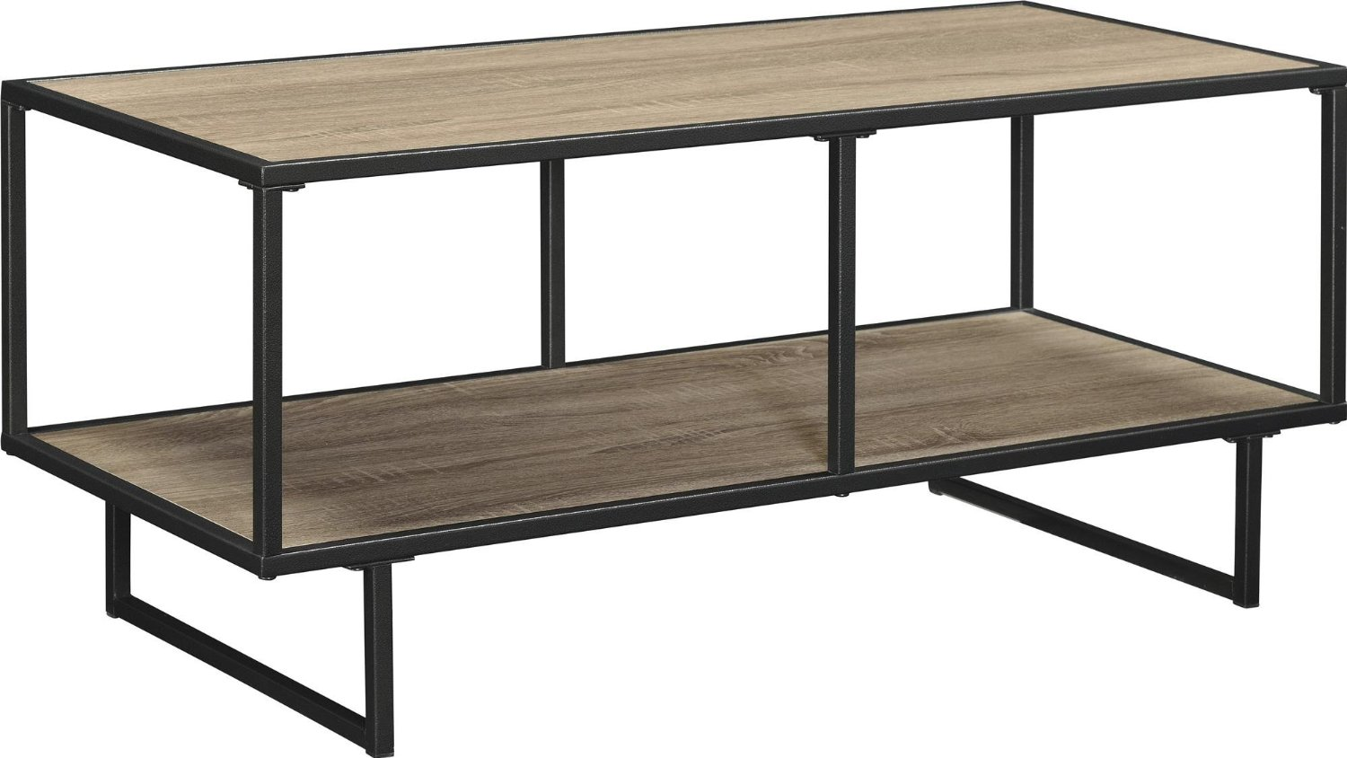 Cheap coffee tables under 100 that work for every style for Cheap oak coffee table