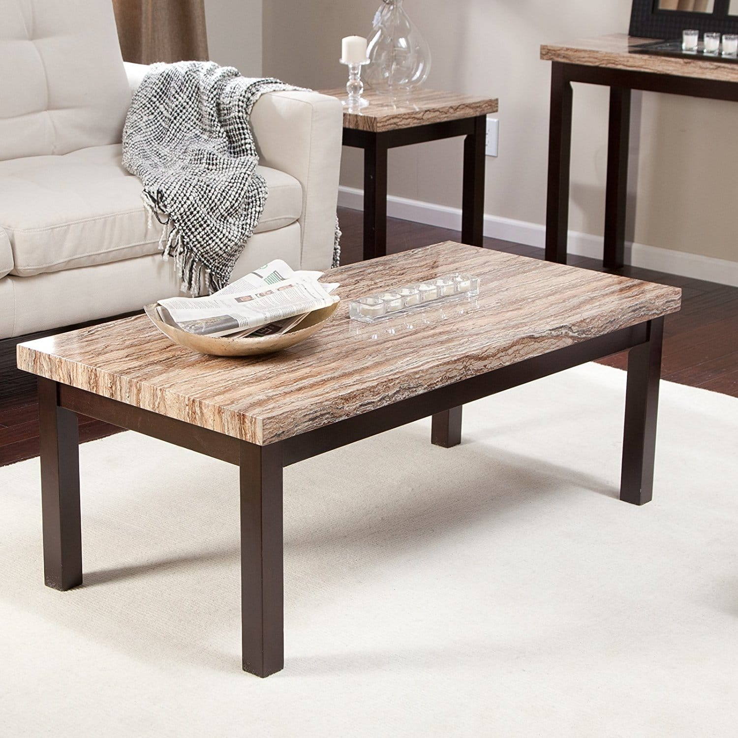 Cheap Marble Top Coffee Table: Cheap Coffee Tables Under $100 That Work For Every Style