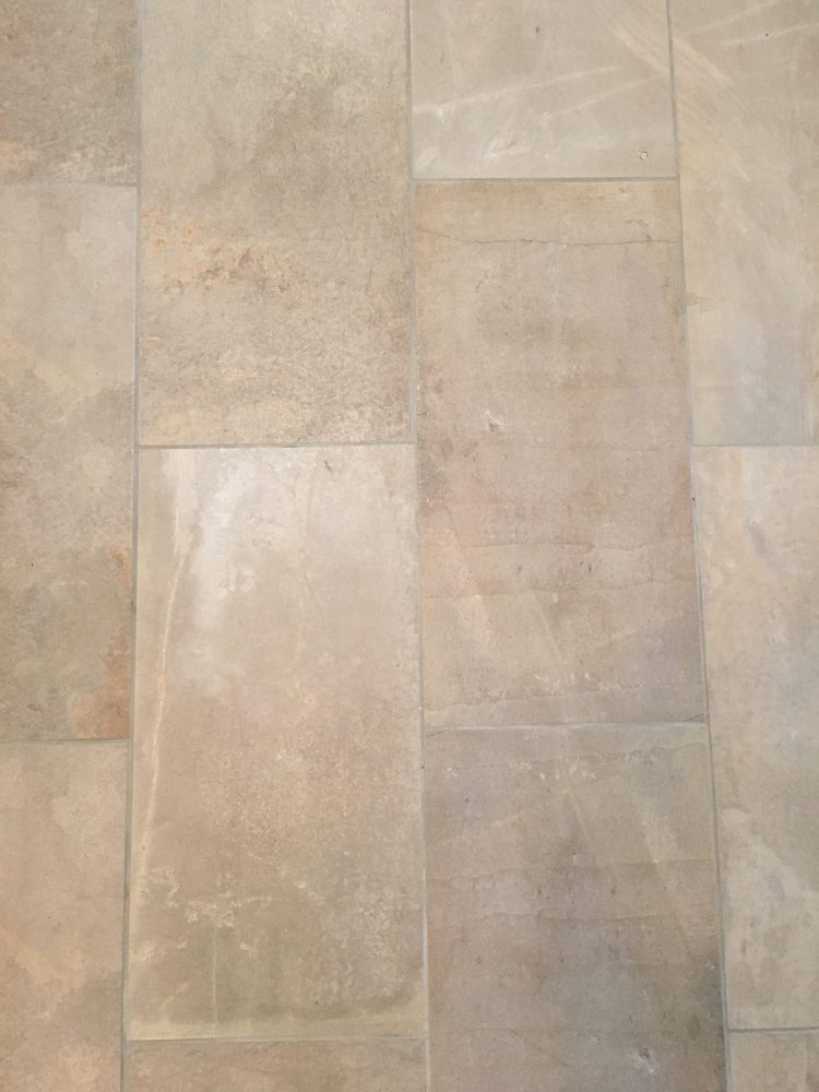 How to pick flooring for your kitchen - helpful to know how to choose tile when you have different flooring in the house.