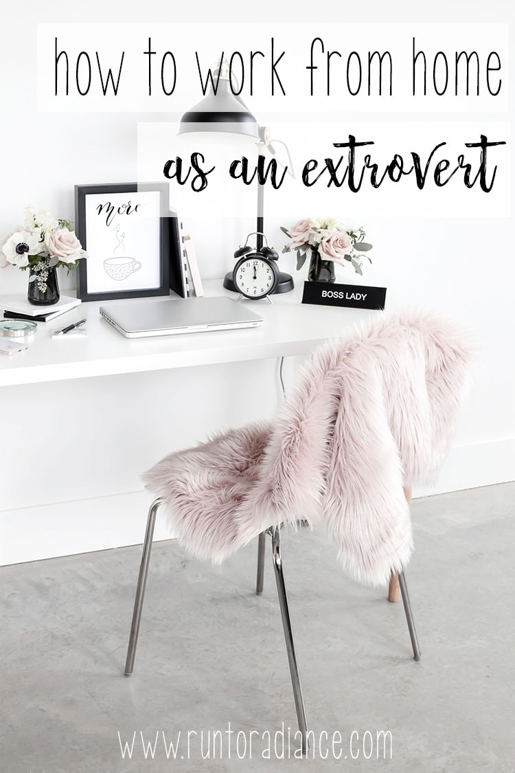 There are so many work from home jobs out there - as an extrovert, it could be challenging, but these tips are awesome!