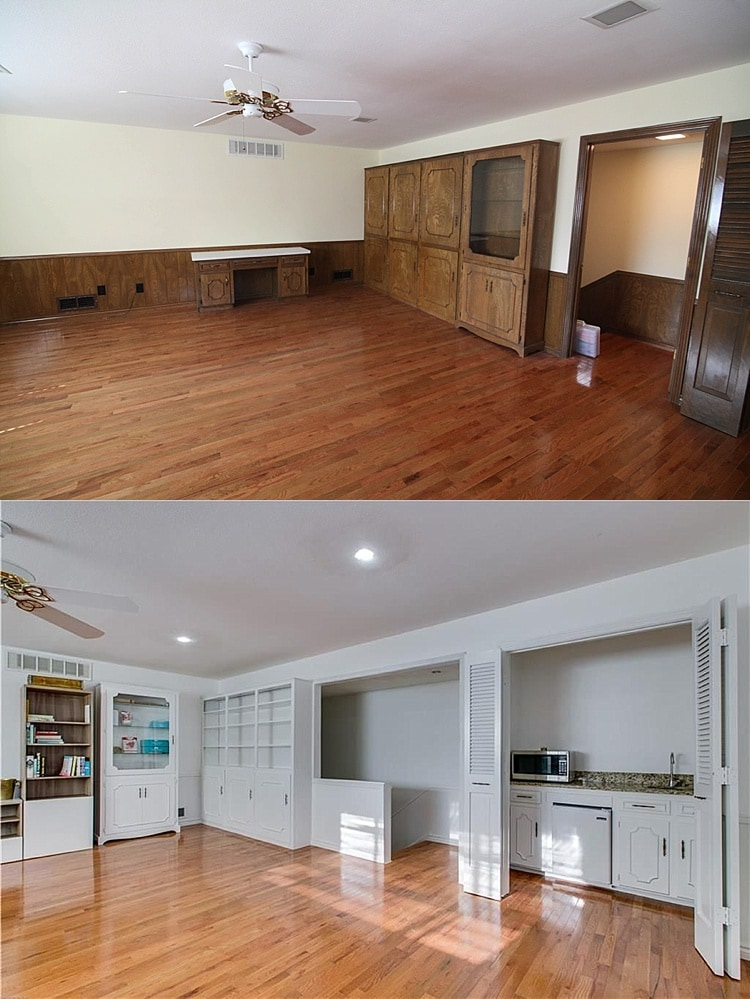 Entire house before and after pictures | Ranch home flip