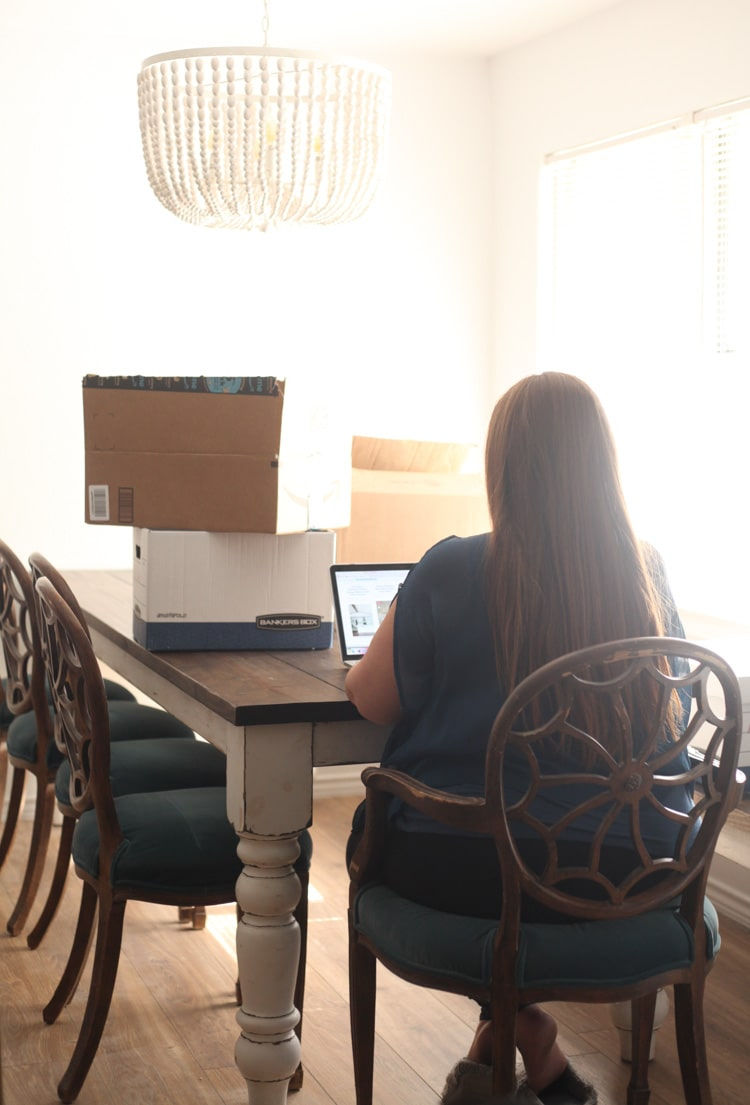 Moving is a lot of work, but it can also be the perfect time to purge, set new goals and embrace the adventure! Here are a few tips and tricks!