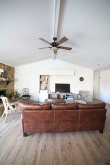 Ranch Style Living Room Before and After Pictures – Makeover on a Budget!