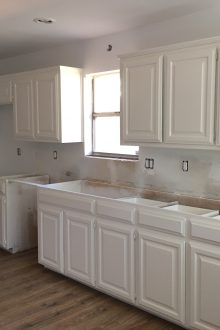 Galley Kitchen Remodel: Painting Kitchen Cabinets