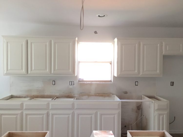 Galley Kitchen Remodel: Painting Kitchen Cabinets - Run To ...
