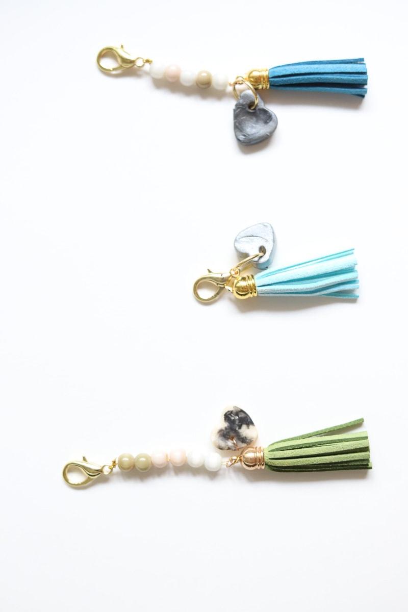 3 keychains
