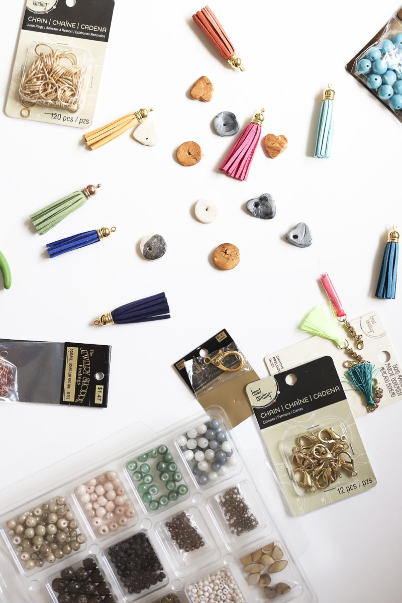 jewelry supplies for diy personalized keychains