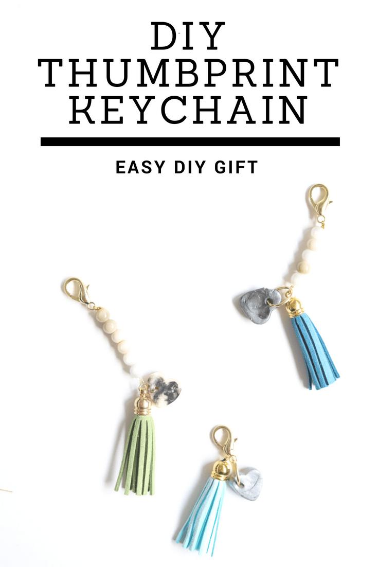 3 diy keychains