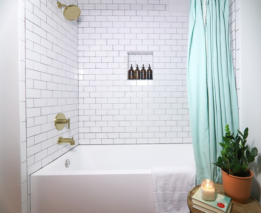 bathroom remodeling ideas for a shower tub combo remodel