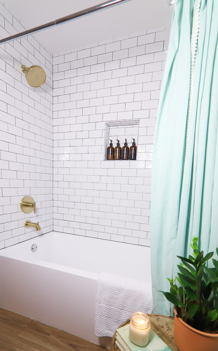 Shower tub combo remodel