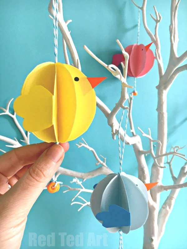 Easter tree preschool crafts