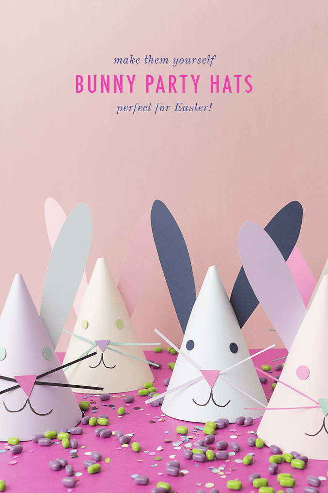 diy easter bunny hats