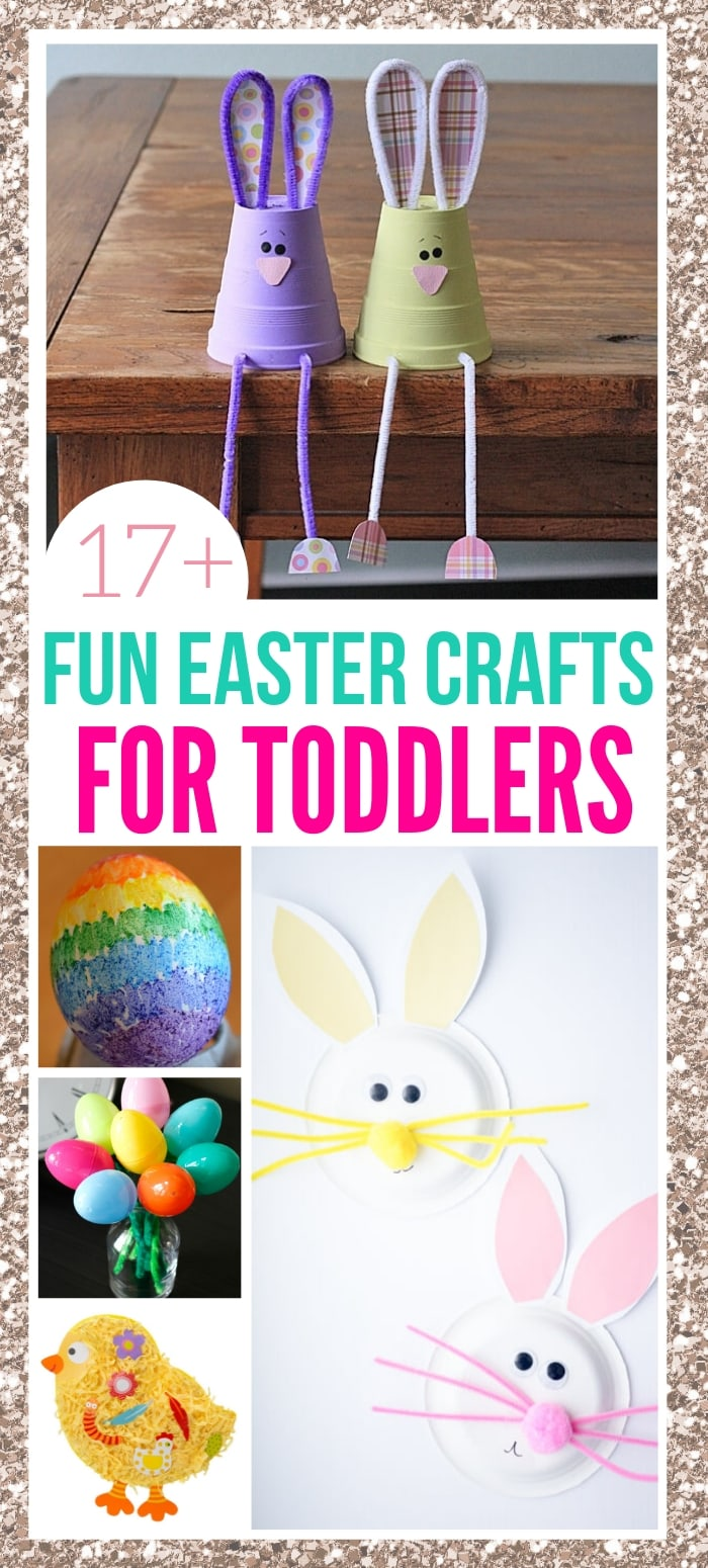 Cute Easter crafts for toddlers