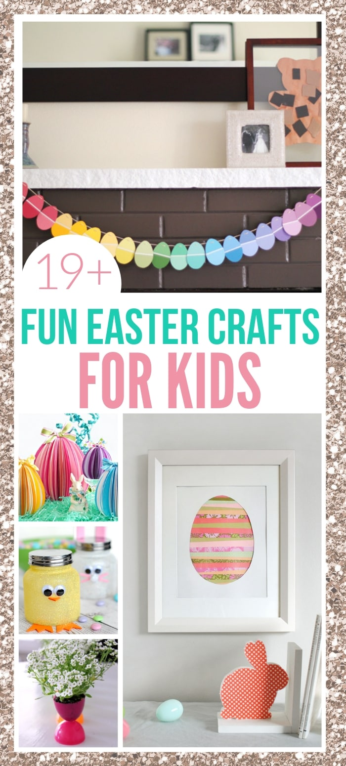 34 Fun Easter Crafts For Kids Including Preschoolers Toddlers