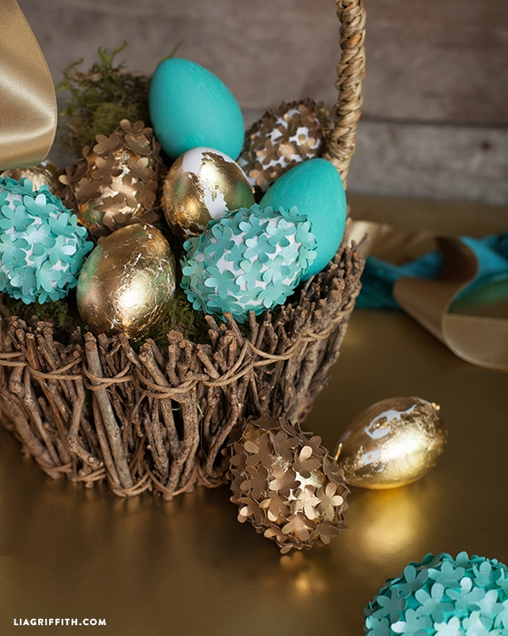 Pretty Easter eggs