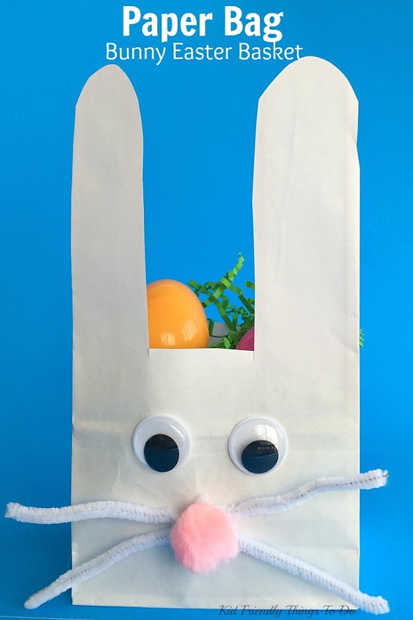 diy easter bunny bag for toddlers