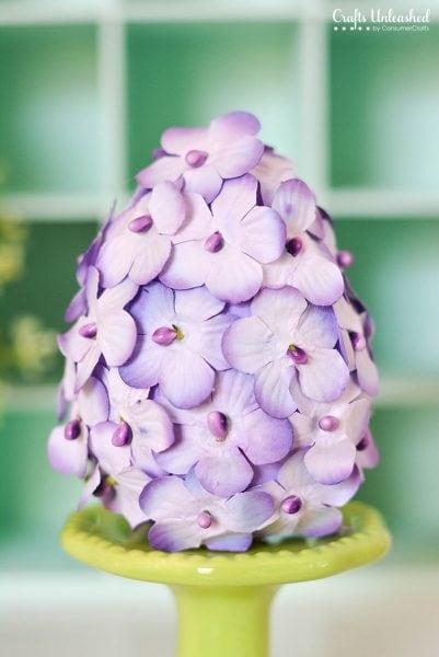 DIY Hydrangea Eggs