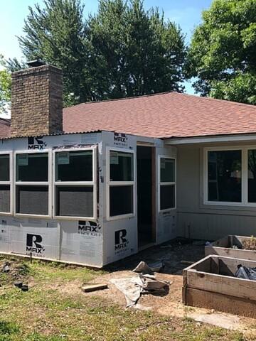 How to install exterior windows for a diy sunroom
