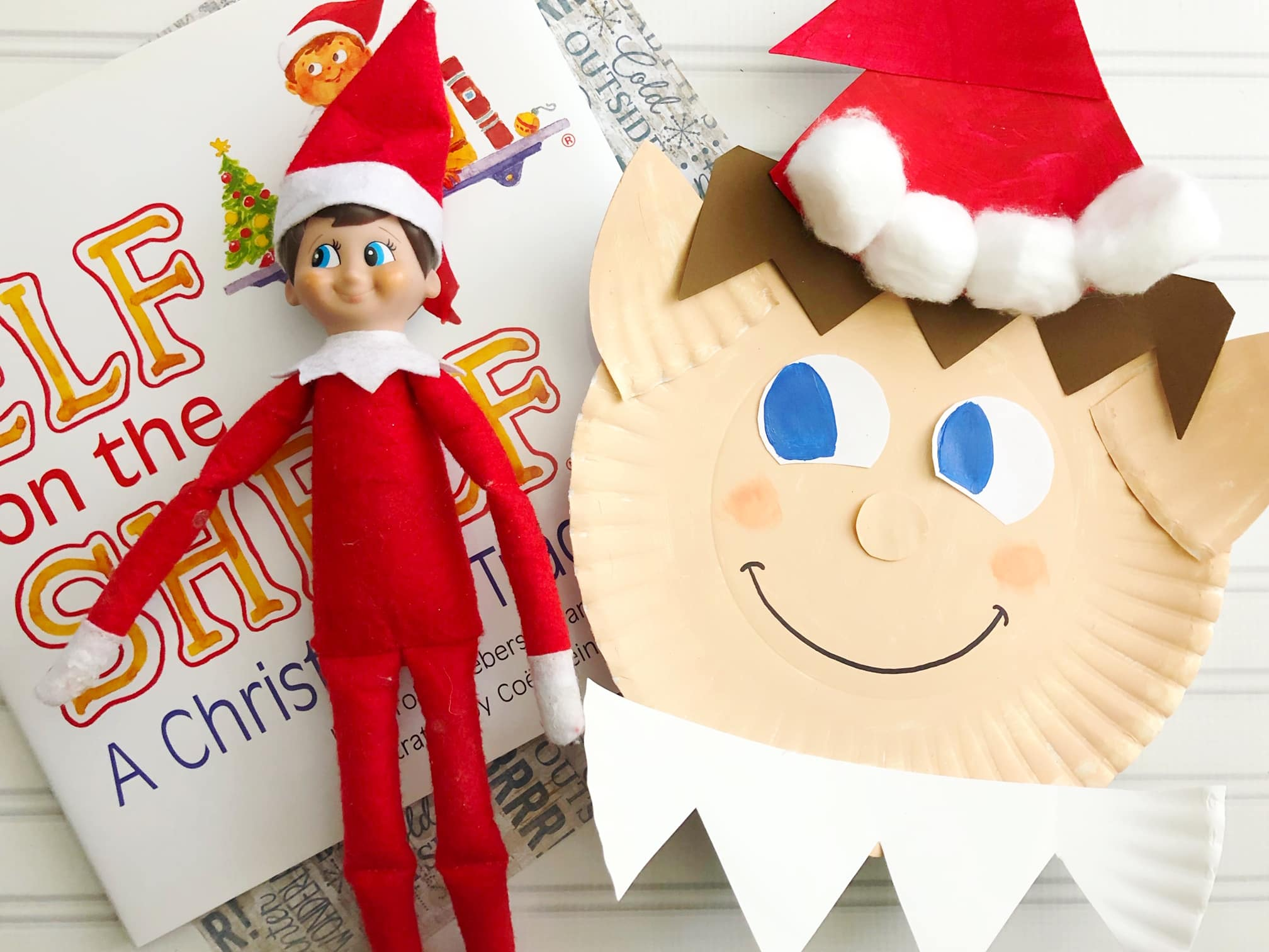 - Elf On The Shelf Paper Plate Craft - Run To Radiance