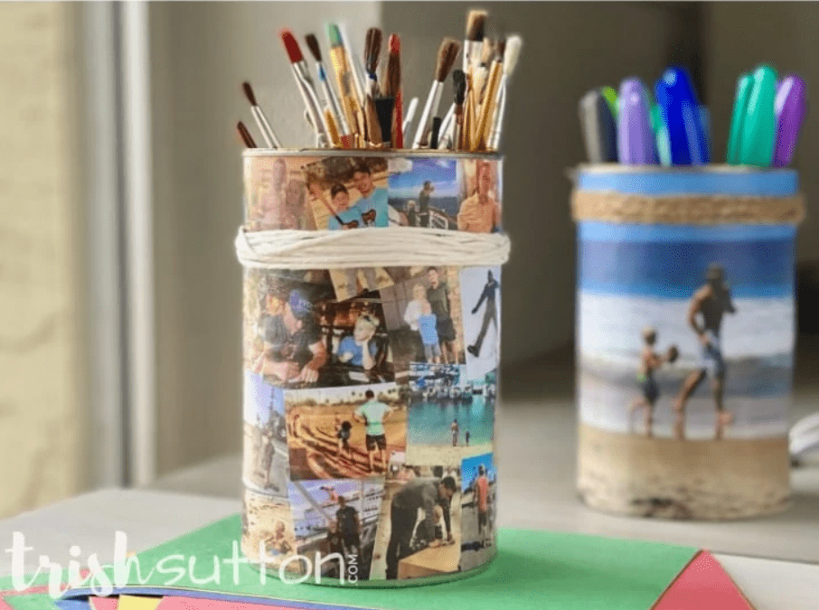 DIY Photo Tin for Father's Day