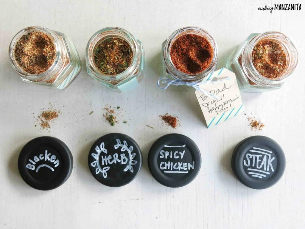 Spices for Father's Day gift