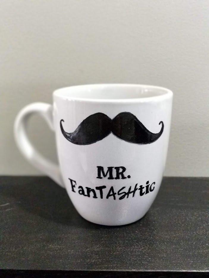 Mr. Fantashstic white cup