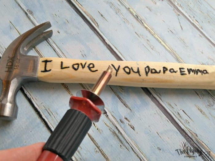 DIY Father's Day Gifts Hammer