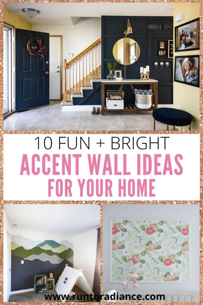 10 Fun Accent Wall Ideas Make Your Walls Stand Out Run To Radiance