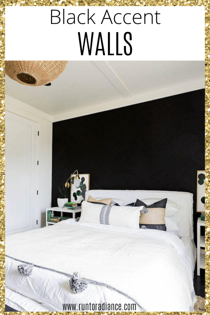 Black Accent Wall Dramatic Ideas For Your Living Space Run To Radiance