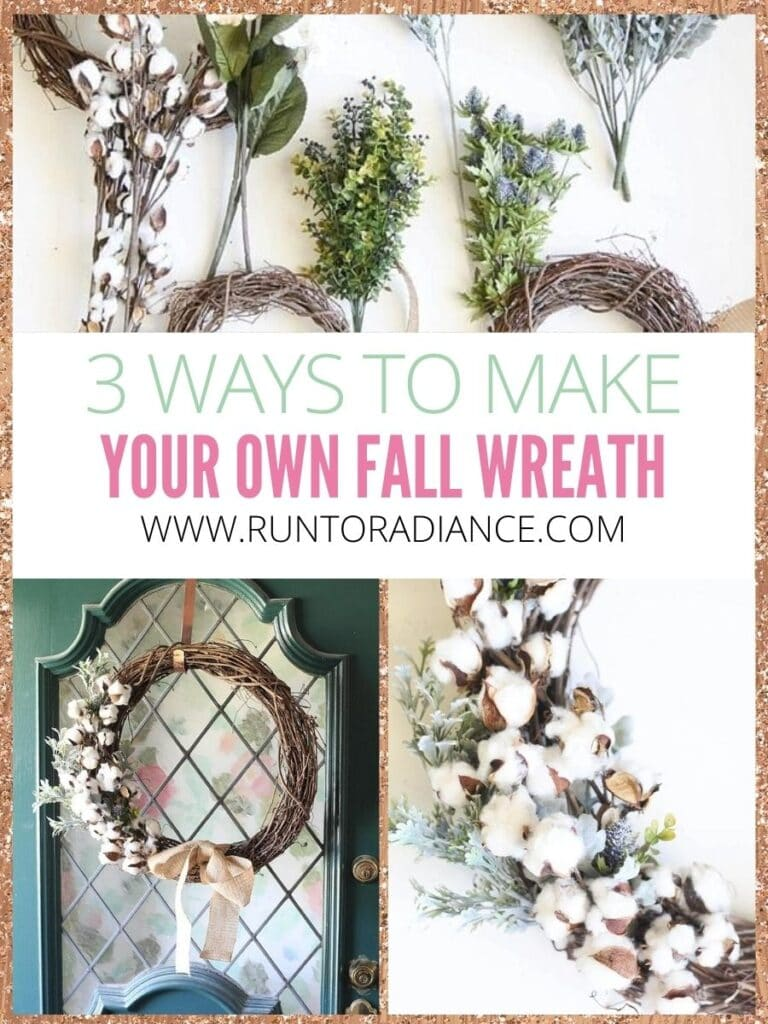 Pretty Diy Fall Wreath Ideas 3 Ways To Make Your Own